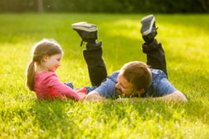 Foto vader en dochter